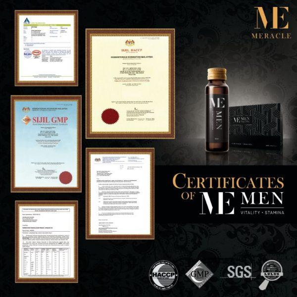 Memen Stamina Drink KKM Certified